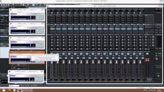 MAGIX Samplitude Music Studio 2013 play on multi Yamaha XG VSTi modules