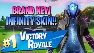 New Infinity Skin!! 13 Elims!! - Fortnite: Battle Royale Gameplay