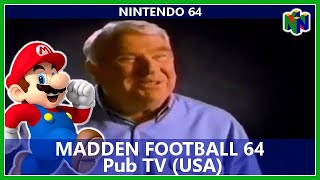 Pub TV N64 - Madden Football 64 (Usa)