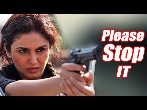 Bollywood Actress Huma Qureshi spoke up against indian terror on Kashmir