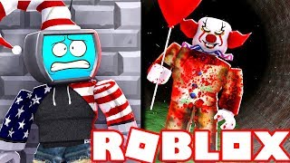 "SCAPPO da ""IT"" IL CLOWN CATTIVO su Roblox (The Clown Killings ITA)"