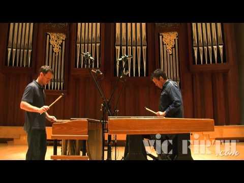 Meehan Perkins Duo perform Steve Reich's  Nagoya Marimbas  (1994)