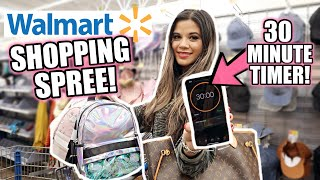 WALMART GIRLY SHOPPING SPREE! *I ONLY HAVE 30 MINUTES*