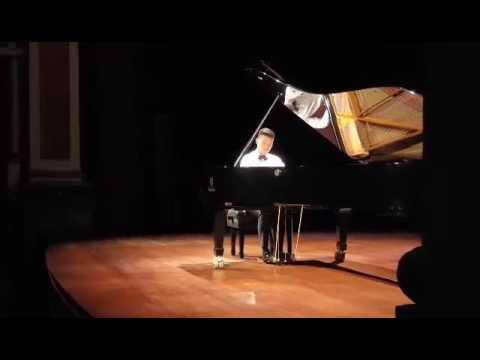 Presentación del pianista David Fung en el teatro Hidalgo