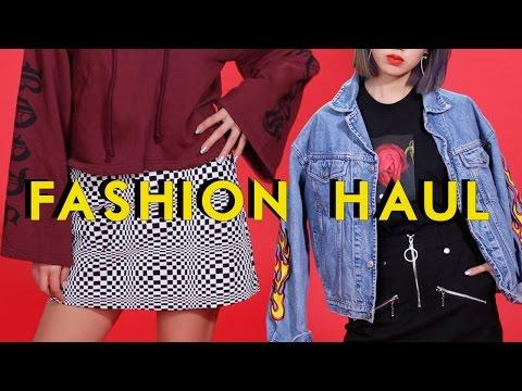 Japan FASHION HAUL Lookbook | 🎄 Winter Trends 2016 🇯🇵