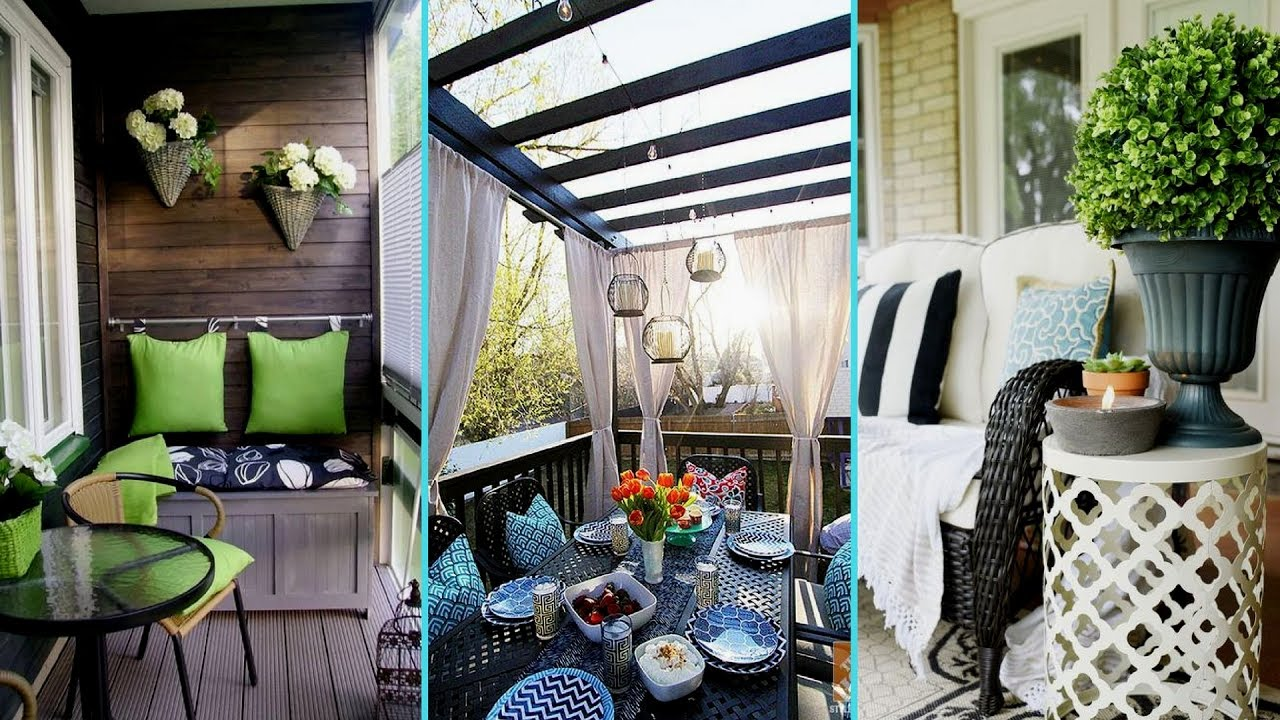 DIY Backyard Patio Balcony Decor Ideas 2017 Home decor