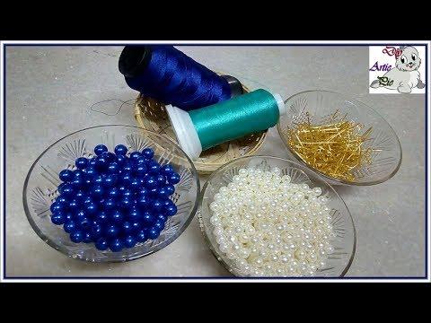 How To Make Beautiful Silk Thread Tassel Earrings At Home | DIY | Jewelry Making | DiyArtiePie