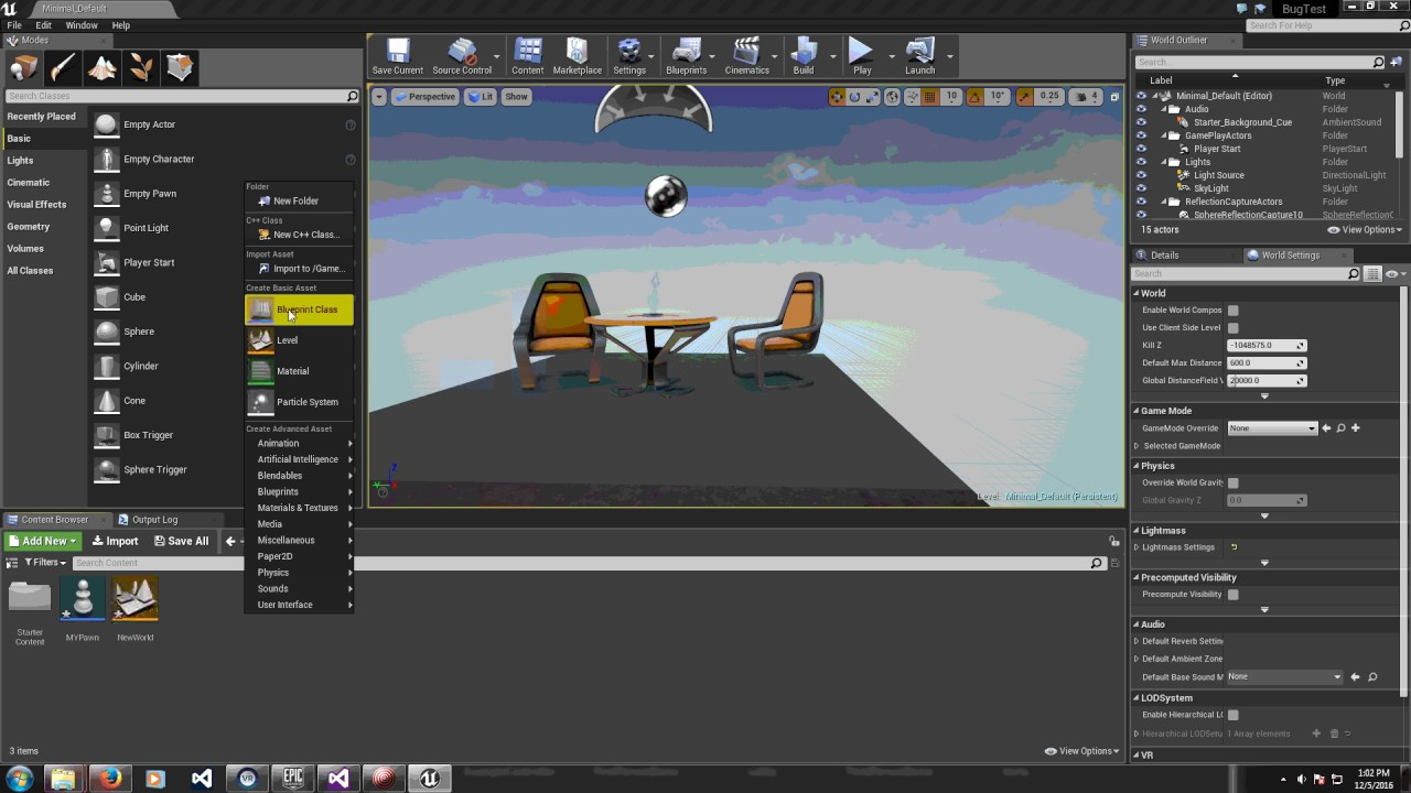UE4 How to Setup GameMode, Applying Controller and Pawn Bug Workaround 4 14