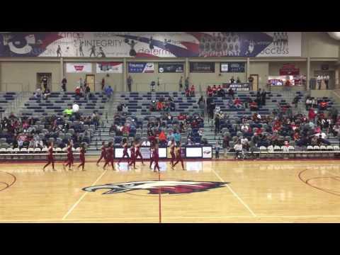 Joplin High School Lady J-Birds - Nov 21, 2016 - Halftime Performance