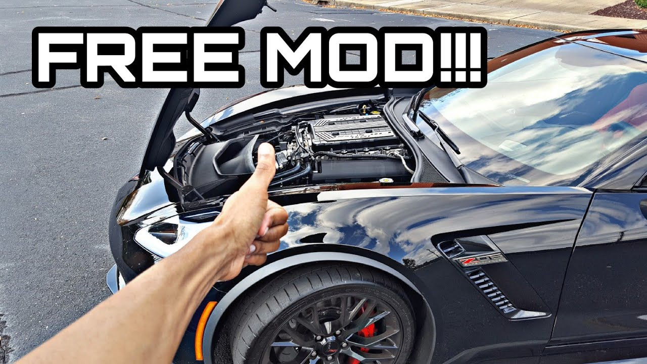I Made My C7 Z06 Louder for FREE!!!