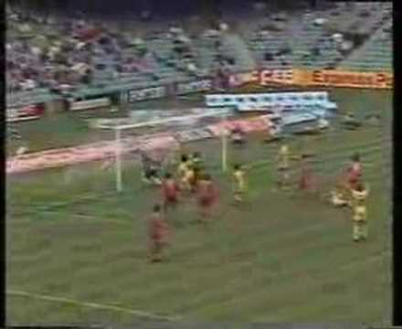 FARINA, Frank vs Canada - 1993 World Cup Qualifier in Austra