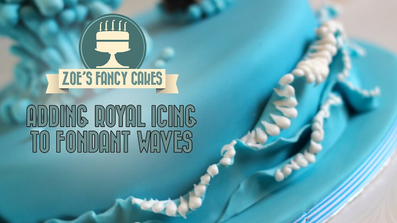 Cake Decorating Water Effect