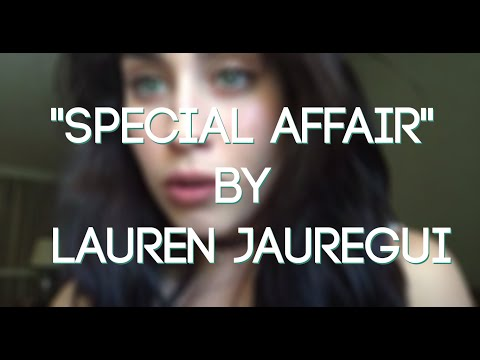 Lauren Jauregui covering Special Affair by The Internet