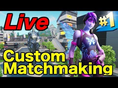 how to create custom matchmaking key in fortnite