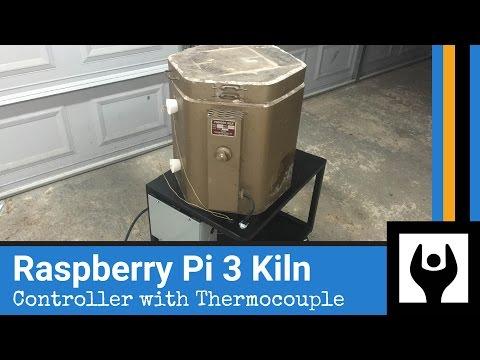 DIY Raspberry Pi Temperature Control for Kiln Foundry