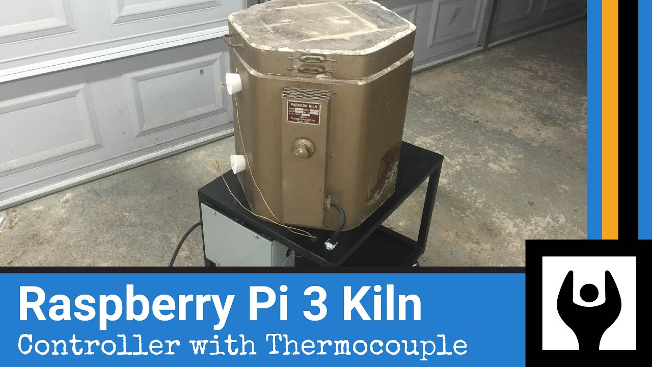 DIY Raspberry Pi Temperature Control for Kiln Foundry