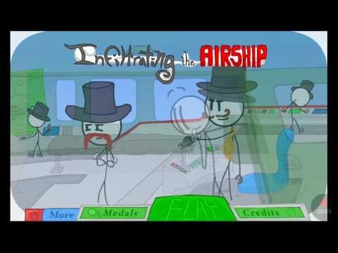 Jsem Agent ( infitrating the airship )