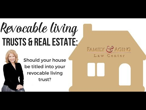 Revocable Living Trusts &  Real Estate - A Common Mistake To Look Out For