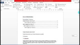 Microsoft Office Word Egitimi Bolum 8 Başvurular