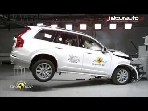 Crash Test Euro NCAP 2015 - Volvo XC90