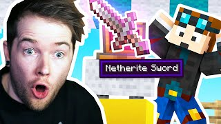 Will He Gamble a NETHERITE SWORD?! (Shady Oaks SMP)