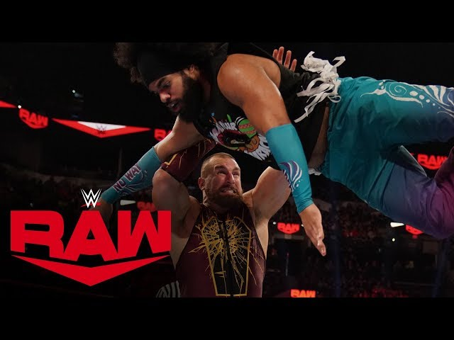 Mojo Rawley vs. No Way Jose – 24/7 Championship Match: Raw, Jan. 27, 2020