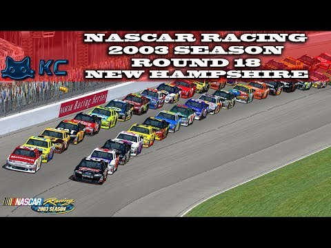 Gaming :Nascar Racing 2003 Season (PC) 🚗 Round 19 New Hampshire Speedway