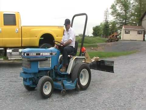 ford 1220 tractor youtube 1972 Ford Custom 500 ford 1220 tractor