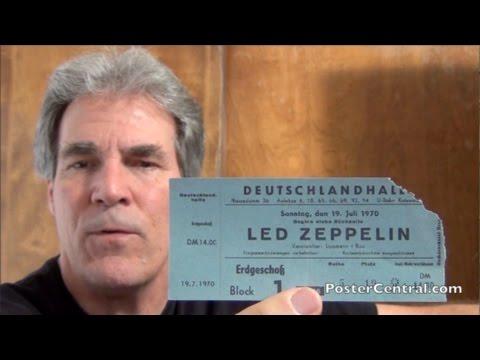 Led Zeppelin Concert Ticket Stub 1970 European Tour (Berlin, Germany)