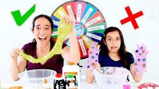 DESAFIO DA ROLETA MISTERIOSA DE SLIME #2 ★ Brincando com a Mamãe (Mystery Wheel Of Slime Challenge) thumbnail