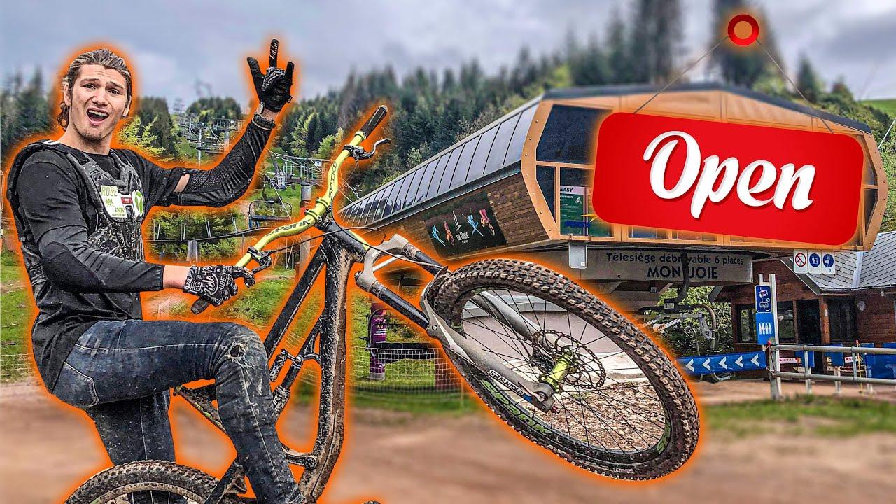 Je donne tout pour l'ouverture des Bikepark !