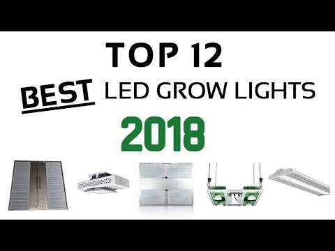 12 Best LED Grow Lights for Cannabis in 2018