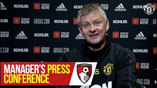 Team News | Manager's Press Conference | Manchester United v AFC Bournemouth | Premier League