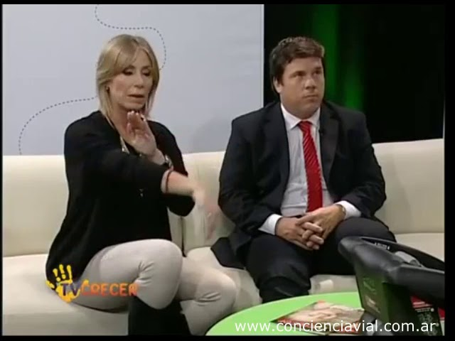 2014 - TV Crecer - Entrevista a Axel Dell' Olio sobre cómo llevar a los chicos en el auto