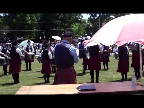 Ryan Russell Memorial Pipe Band - Georgetown 2016