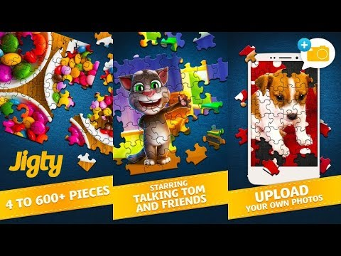 Jigty Jigsaw Puzzles - Jigsaw Fun On The Go - Best Puzzle Board Game To Play For Fun In IOS/ Android