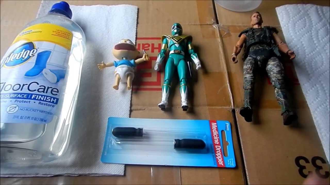 Remove Plastic Figure Statue Paint
