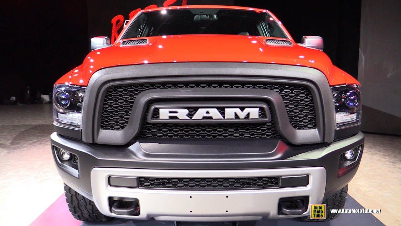 2016 ram 1500 rebel exterior and interior walkaround debut at 2015 detroit auto show youtube - Dodge Truck 2016