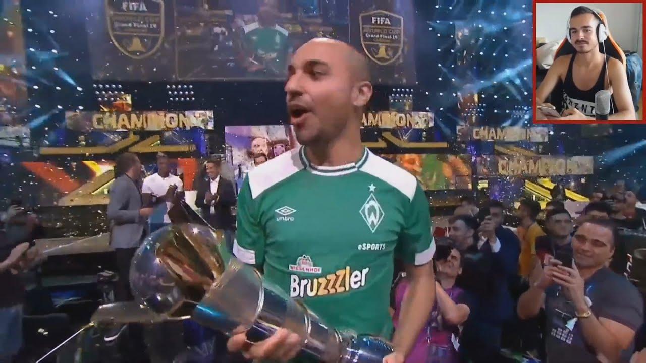 Erné reagiert wie Mo FIFA 19 WELTMEISTER wird 🔥   Erné Clips