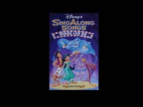 Digitized opening to Disney's SingAlong Songs Friend Like Me (USA VHS)