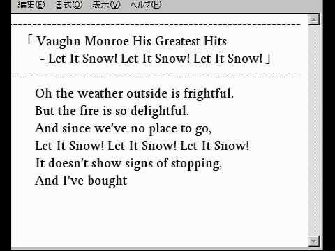 🎵 (Die Hard Version)Vaughn Monroe His Greatest Hits - Let It Snow! Let It Snow! Let It Snow!