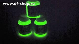 Cветонакопительная краска air master светится в темноте