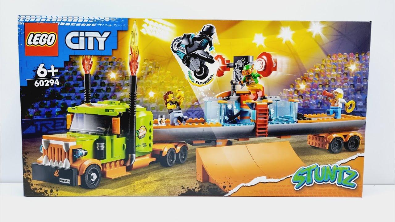 LEGO 60294 레고 시티 스턴트 쇼 트럭 빠른 조립 영상 LEGO CITY STUNT SHOW TRUCK SPEED BUILD[협찬]