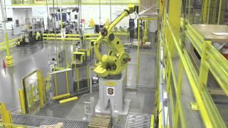 Amazons New High-Tech Distribution Center