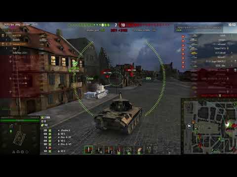 Skorpion G + AMX 50 100 - Игра взводом (2 воина на двоих на Химмельсдорфе)
