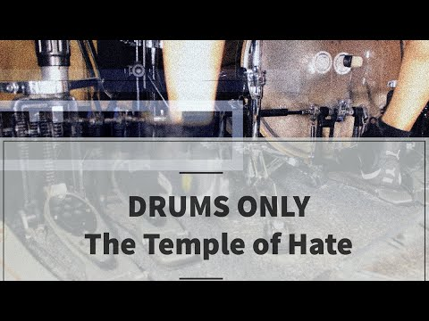 Bruno Valverde - Angra - The Temple of Hate - DRUMS ONLY