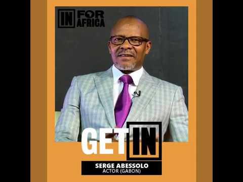 L' acteur Gabonais SERGE ABESSOLO est #INFORAFRICA.#WECANDOTHISTOGETHER