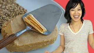 Homemade BROWN CHEESE | Mysost - Scandinavian whey cheese recipe
