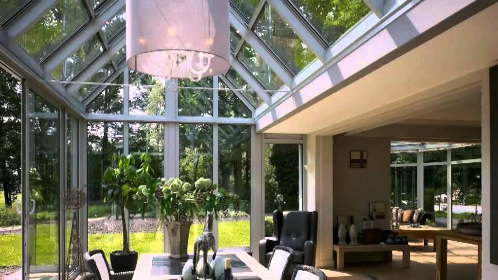 Retractable Sliding Roof Zenyd Winter Garden Youtube
