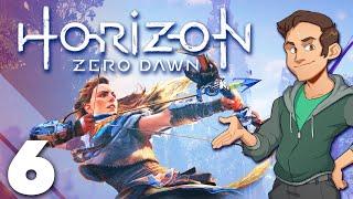Horizon Zero Dawn - #6 - Aloy, Robot Dinosaur Climber